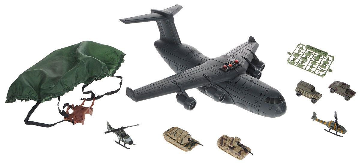 Транспортный самолет с наполнением Нано-Арми, звук, светВоенна техника<br>Транспортный самолет с наполнением Нано-Арми, звук, свет<br>
