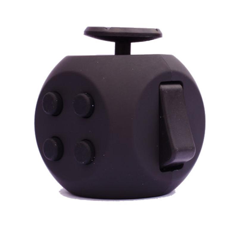 Игрушка антистресс FidgetCube 3.0 Air, черныйАнтистресс кубики Fidget Cube<br>Игрушка антистресс FidgetCube 3.0 Air, черный<br>