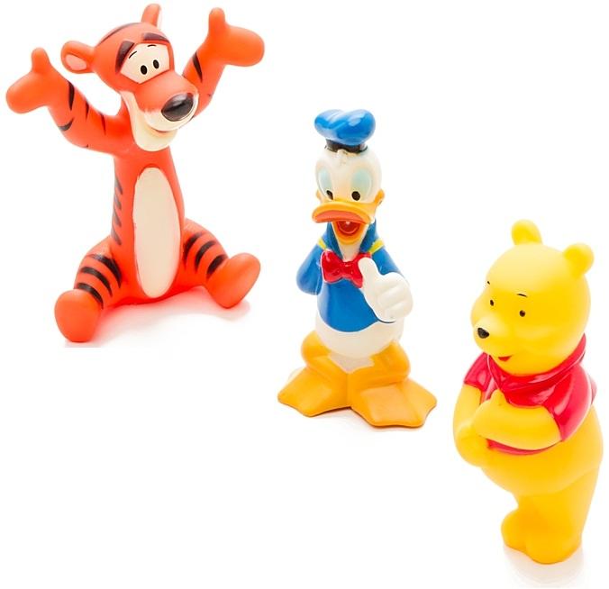 Набор для купания «Disney»: Винни, Тигруля, ДональдИгрушки для ванной<br>Набор для купания «Disney»: Винни, Тигруля, Дональд<br>