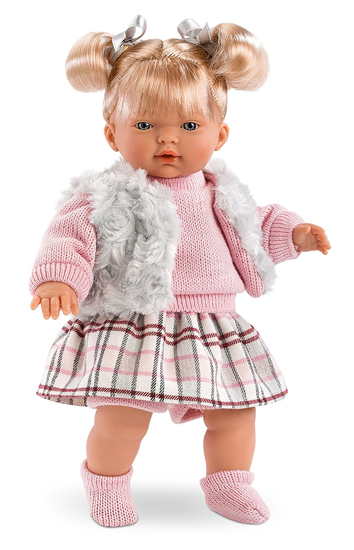 Кукла Изабелла, озвученная, 33 см.Испанские куклы Llorens Juan, S.L.<br>Кукла Изабелла, озвученная, 33 см.<br>