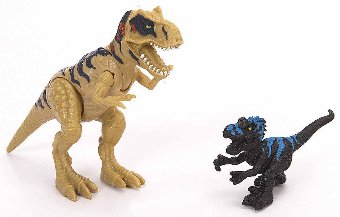 Подвижная фигура Мегалозавра с маленьким динозавромЖизнь динозавров (Prehistoric)<br>Подвижная фигура Мегалозавра с маленьким динозавром<br>