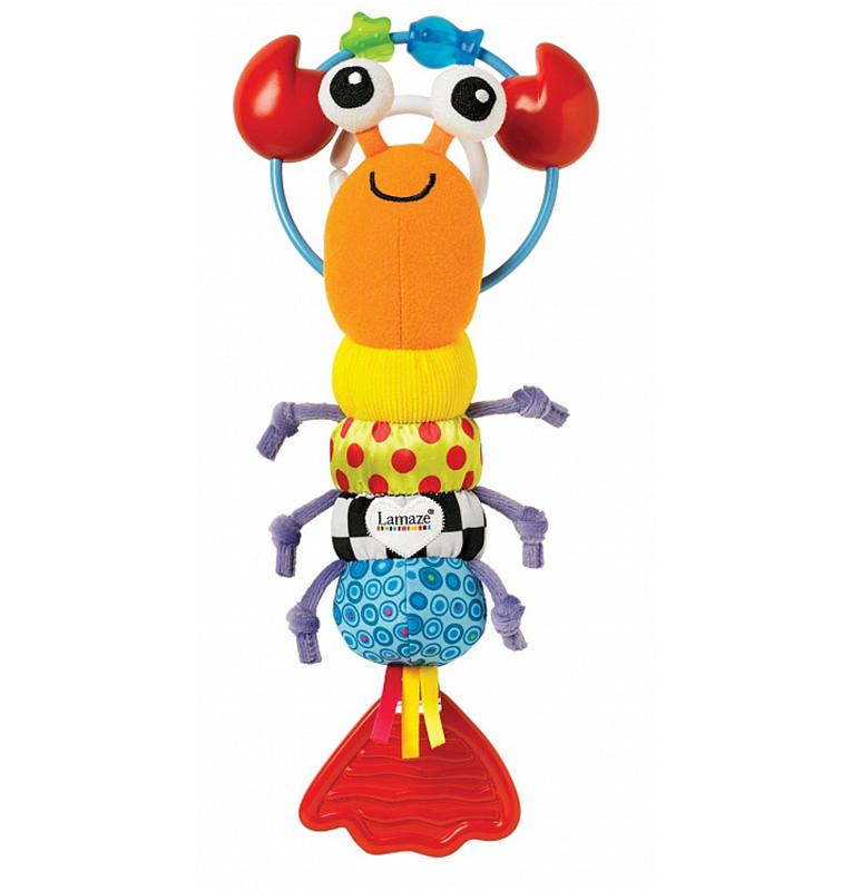 Игрушка-подвеска Веселый ОмарДетские погремушки и подвесные игрушки на кроватку<br>Игрушка-подвеска Веселый Омар<br>