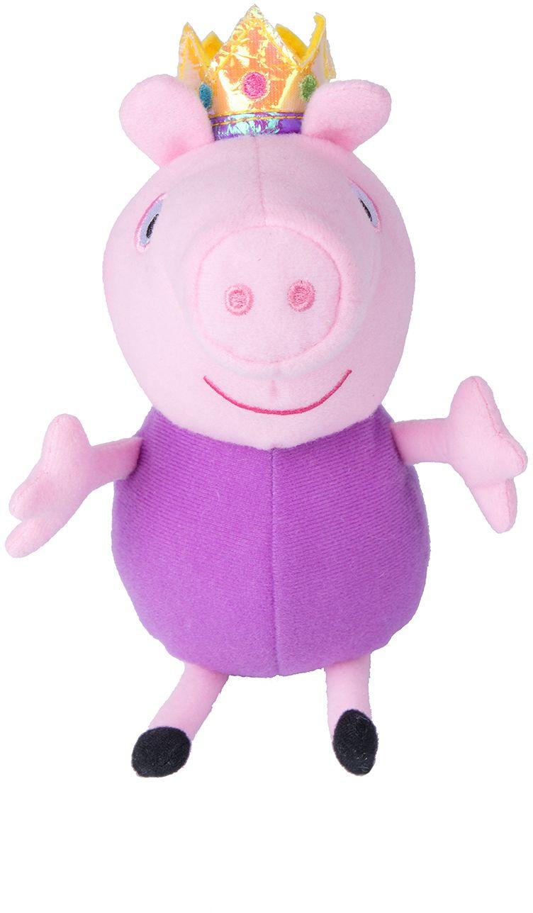 Мягкая игрушка Джордж принц, 20 см. из серии Свинка Пеппа - Свинка Пеппа (Peppa Pig ), артикул: 149413