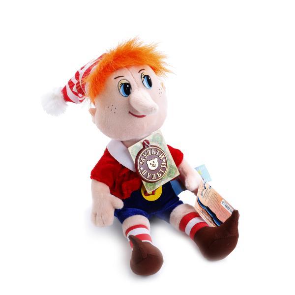 Озвученная мягкая игрушка  Буратино, 27 см - Говорящие игрушки, артикул: 168524