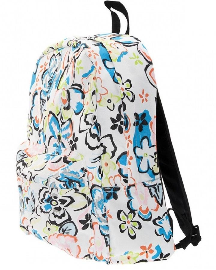 Рюкзак с дизайном Цветы, в комплекте с наушниками, цвет мульти - Детские рюкзаки, артикул: 169285