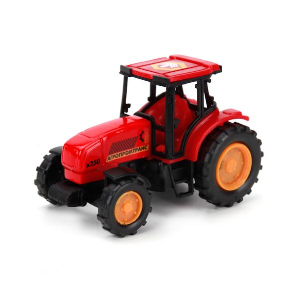 Трактор металлический, 7 см.Игрушечные тракторы<br>Трактор металлический, 7 см.<br>