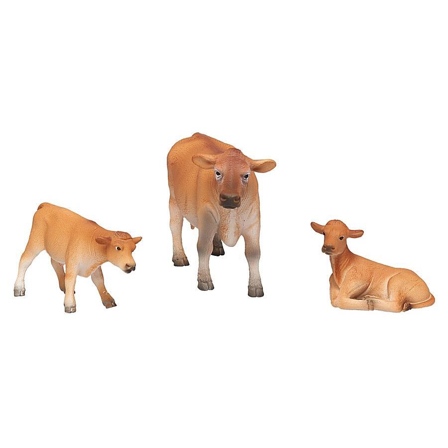 Купить Набор Animal Planet - Джерсийские коровы, малый, Mojo