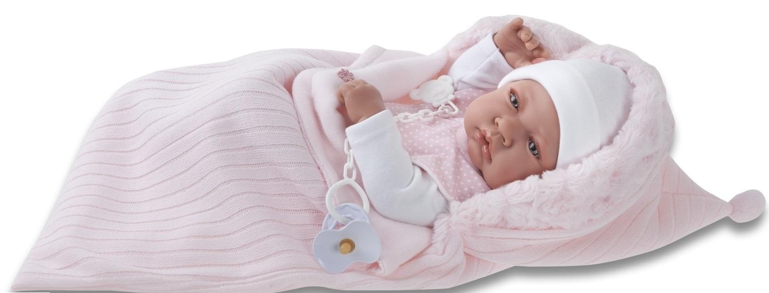 Кукла - младенец девочка Сильвия, 42 см.