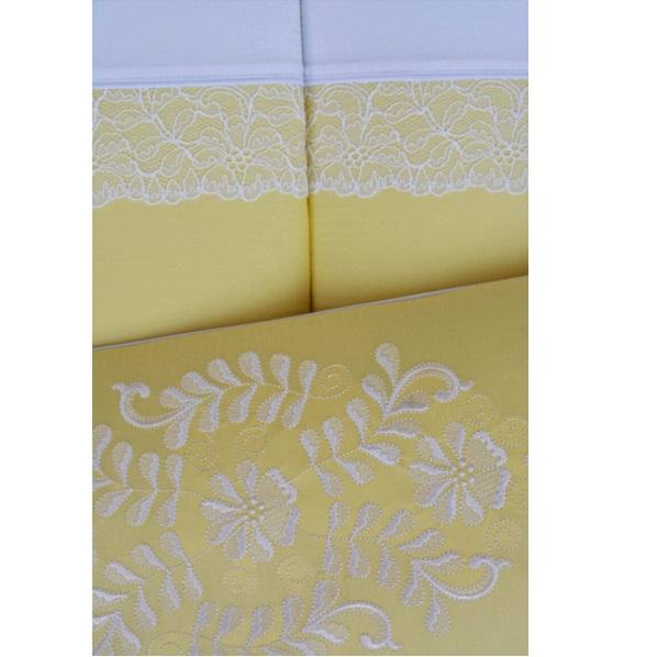Купить Комплект в люльку Chepe for Nuovita - Tenerezza / Нежность, 3 предмета бело-желтый