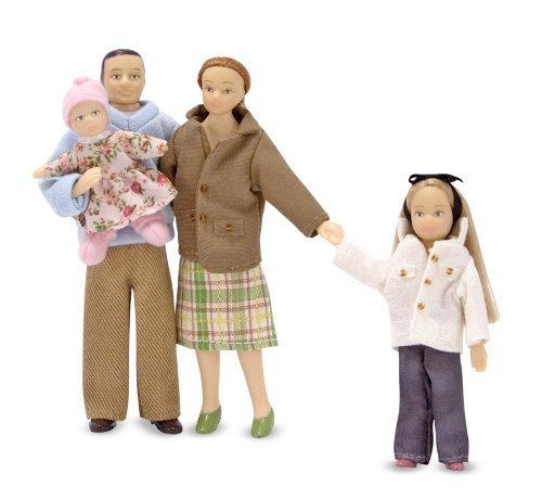 Куклы - Семья для Викторианского домаКукольные домики<br>Куклы - Семья для Викторианского дома<br>