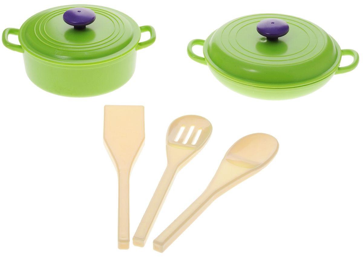 Набор посуды «Помогаю маме», 5 предметовАксессуары и техника для детской кухни<br>Набор посуды «Помогаю маме», 5 предметов<br>