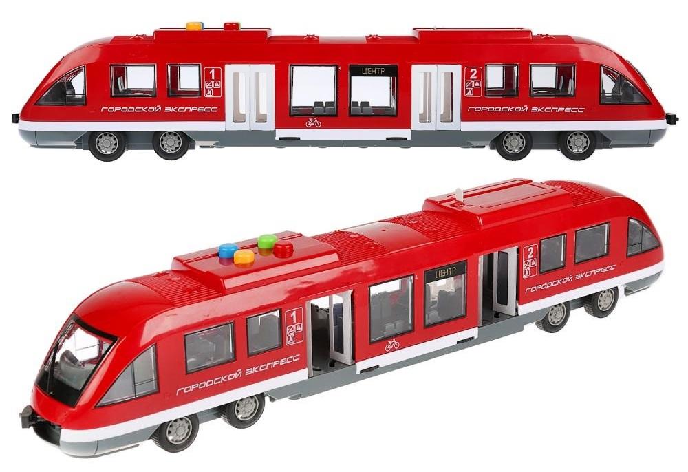 Купить Поезд-метро Городской экспресс, 45 см, свет и звук, Технопарк
