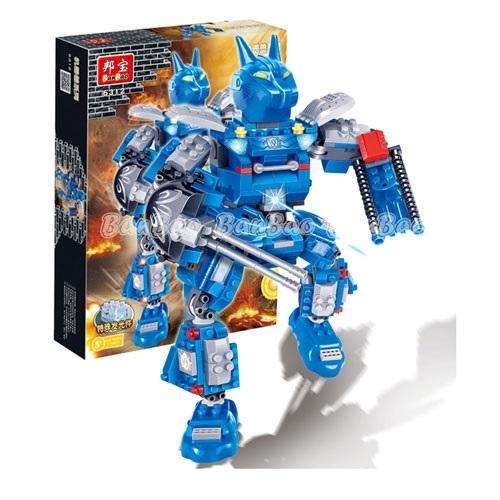 Робот с эффектом светаКонструкторы BANBAO<br>Робот с эффектом света<br>
