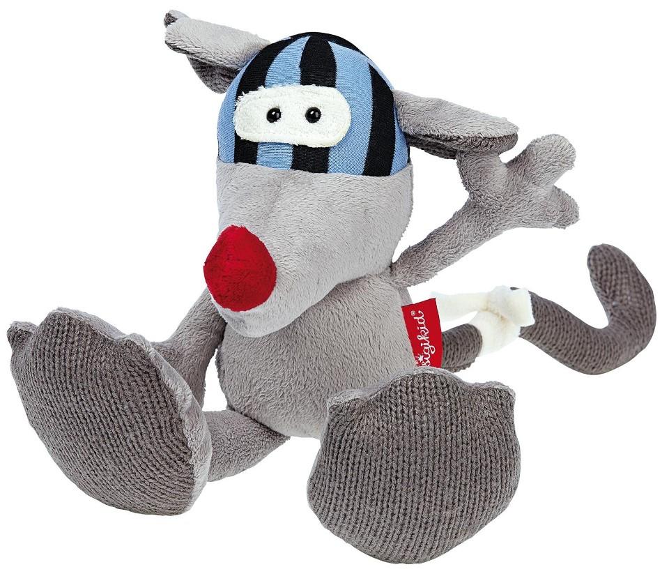 Купить Мягкая игрушка – Мышь Бандидолерос, 16 см, Sigikid