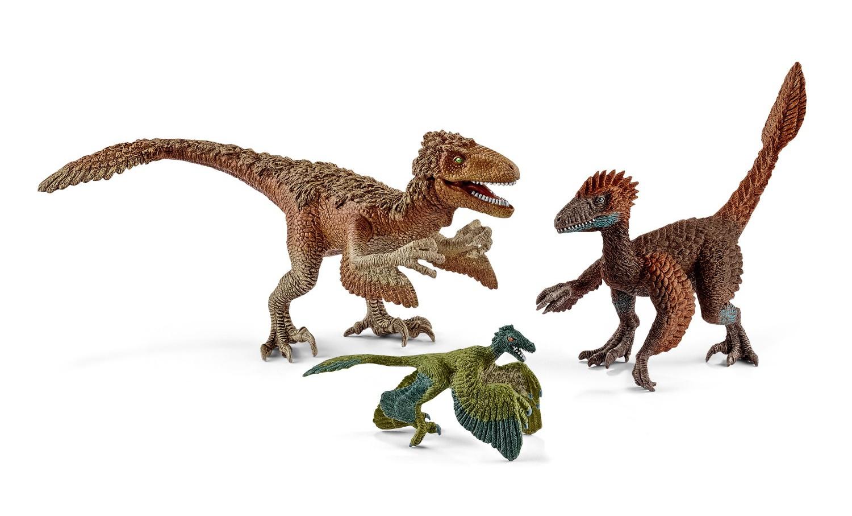 Купить Набор из 3 фигурок - Пернатые хищники-динозавры, Schleich