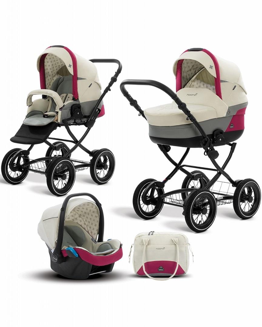 Купить Коляска детская Noordi Polaris CL 3 в 1 с автокреслом