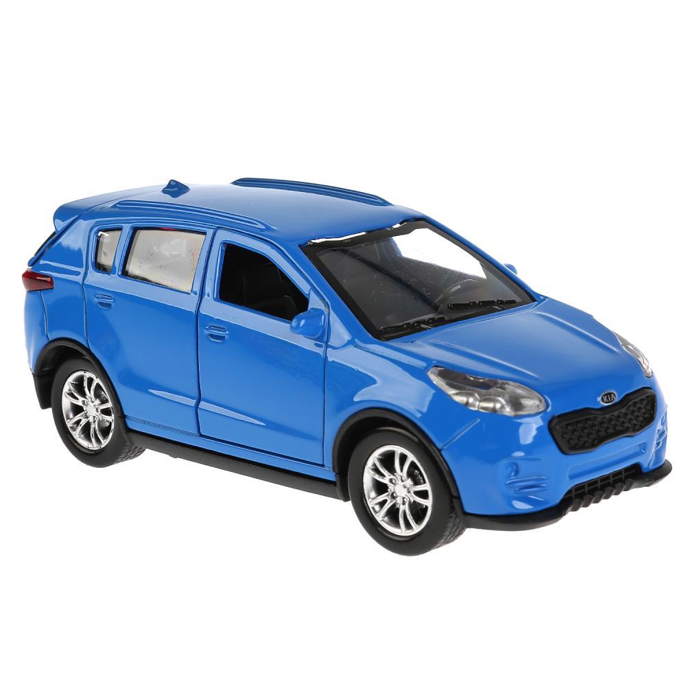 Купить Модель Kia Sportage, синяя, 12 см, открываются двери, инерционная, Технопарк