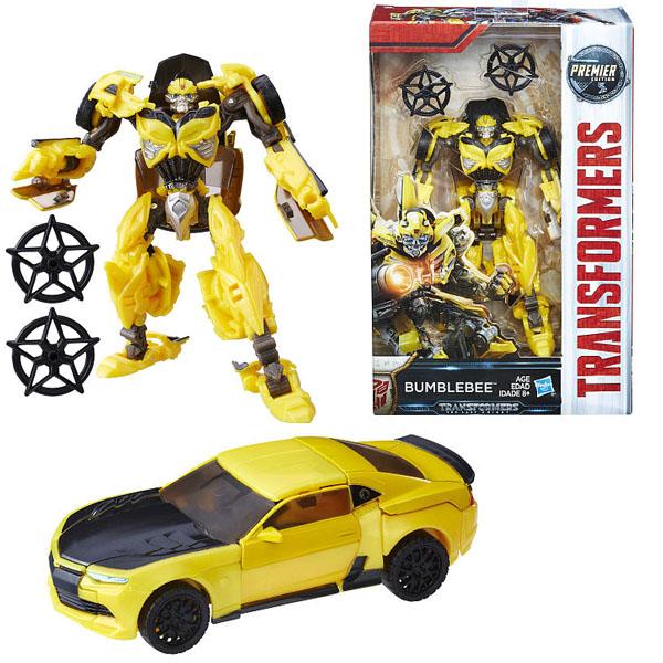 Фигурка из серии Трансформеры 5: Делюкс  Автобот Бамблби Bumblebee - Игрушки трансформеры, артикул: 168192