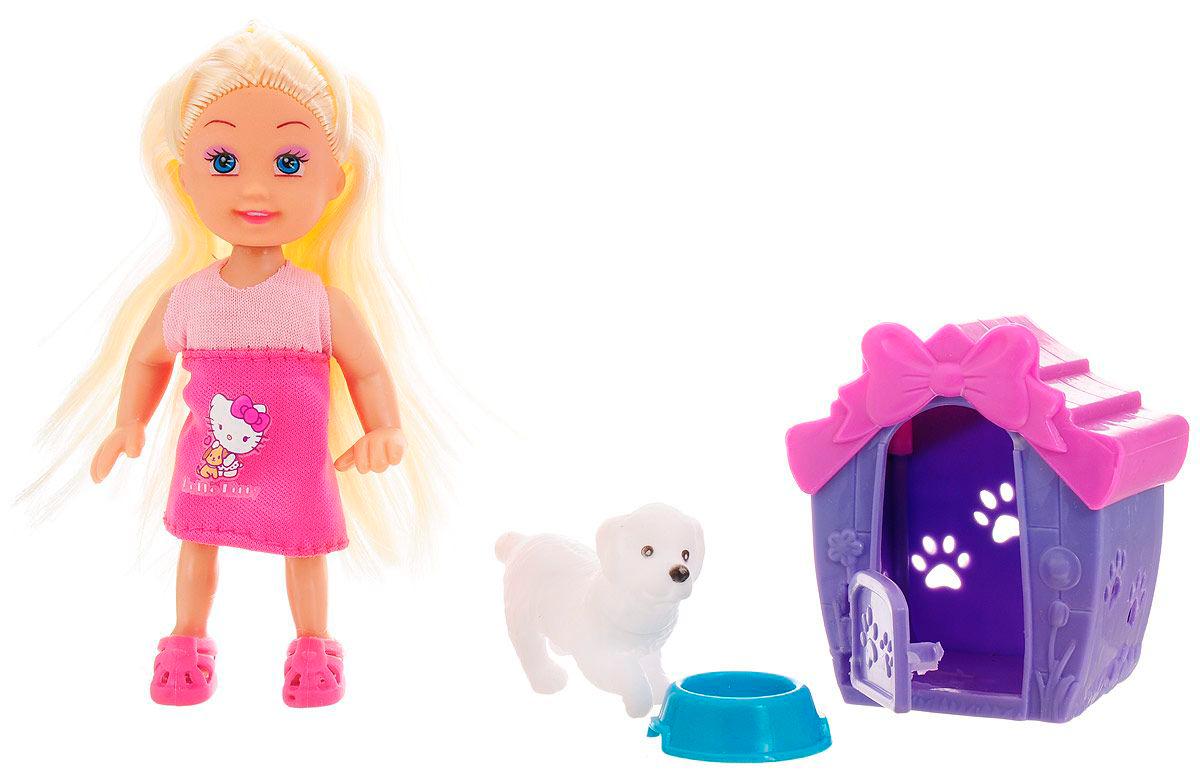 Кукла Hello Kitty – Машенька с питомцем, 12 смКуклы Карапуз<br>Кукла Hello Kitty – Машенька с питомцем, 12 см<br>