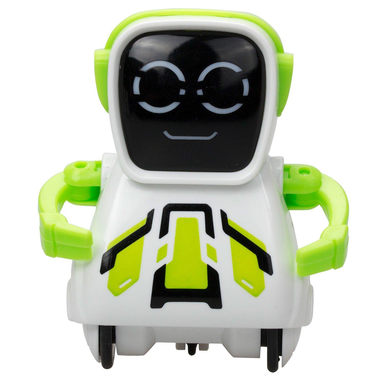 Купить Робот Покибот, звуки и запись голоса, зеленый, Silverlit