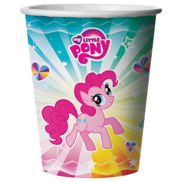 Набор из 6 стаканчиков – My little ponyMy Little Pony<br>Набор из 6 стаканчиков – My little pony<br>