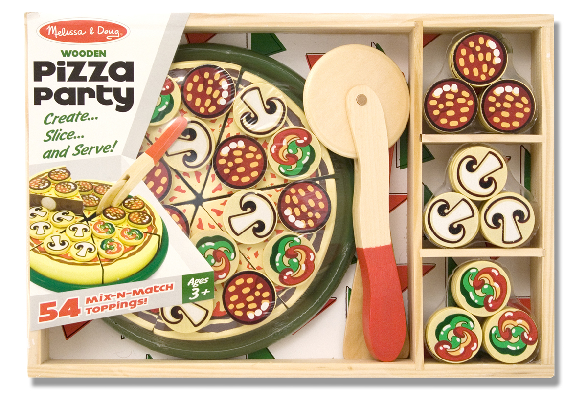 Набор - Вечеринка с пиццей из серии Готовь и играйАксессуары и техника для детской кухни<br>Набор - Вечеринка с пиццей из серии Готовь и играй<br>