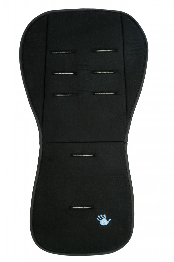 Матрасик вкладыш из ткани Lifeline Polyester, blackАксессуары к коляскам<br>Матрасик вкладыш из ткани Lifeline Polyester, black<br>