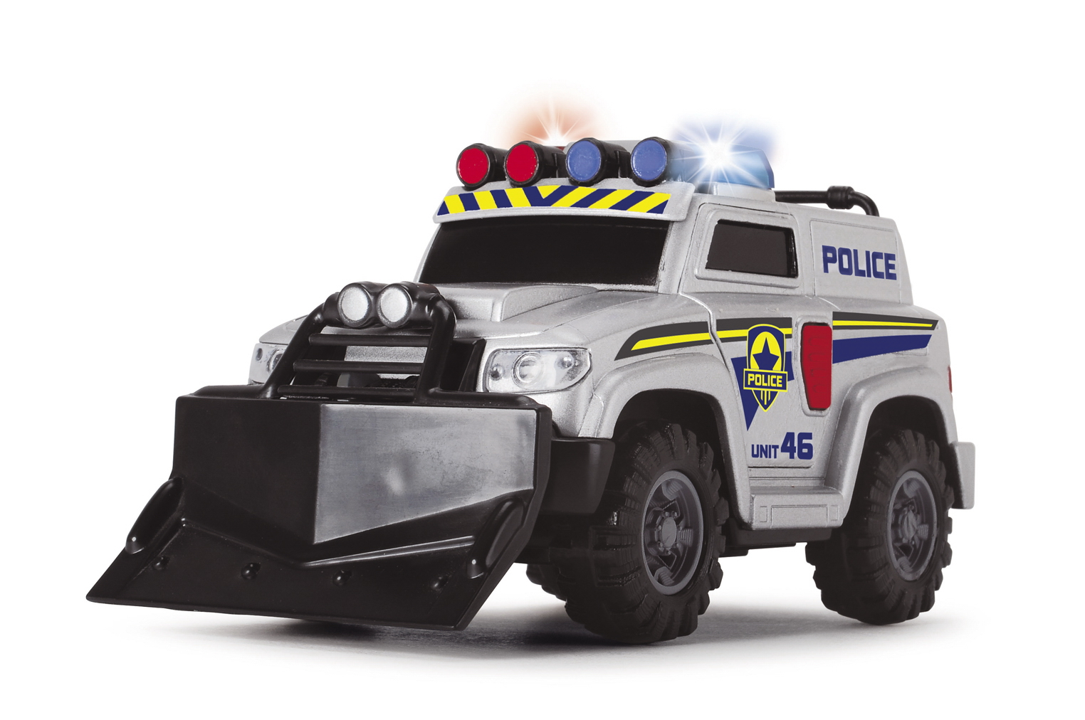 Полицейская машина со светом и звуком, 15 смПолицейские машины<br>Полицейская машина со светом и звуком, 15 см<br>