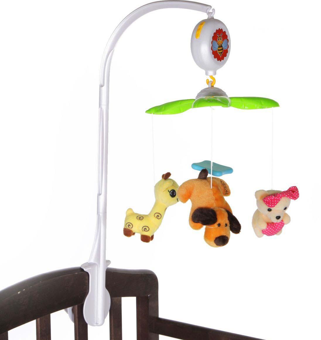 Мобиль на кроватку - Зверушки, звукМобили и музыкальные карусели на кроватку, игрушки для сна<br>Мобиль на кроватку - Зверушки, звук<br>