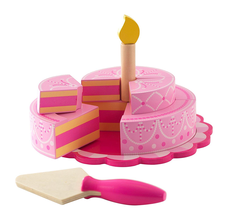 Купить Игровой набор - Многоуровневый праздничный торт, розовый, KidKraft