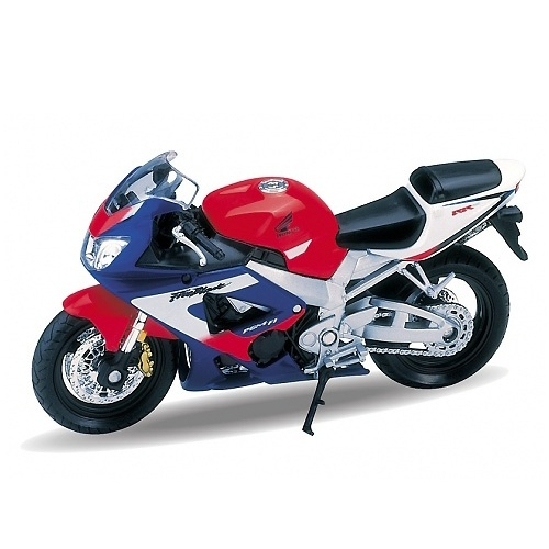 Металлический мотоцикл Honda CBR900RR Fireblade, масштаб 1:18Мотоциклы<br>Металлический мотоцикл Honda CBR900RR Fireblade, масштаб 1:18<br>