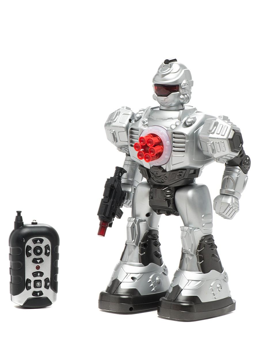 Робот на радиоуправлении со светом и звукомРоботы на радиоуправлении<br>Робот на радиоуправлении со светом и звуком<br>