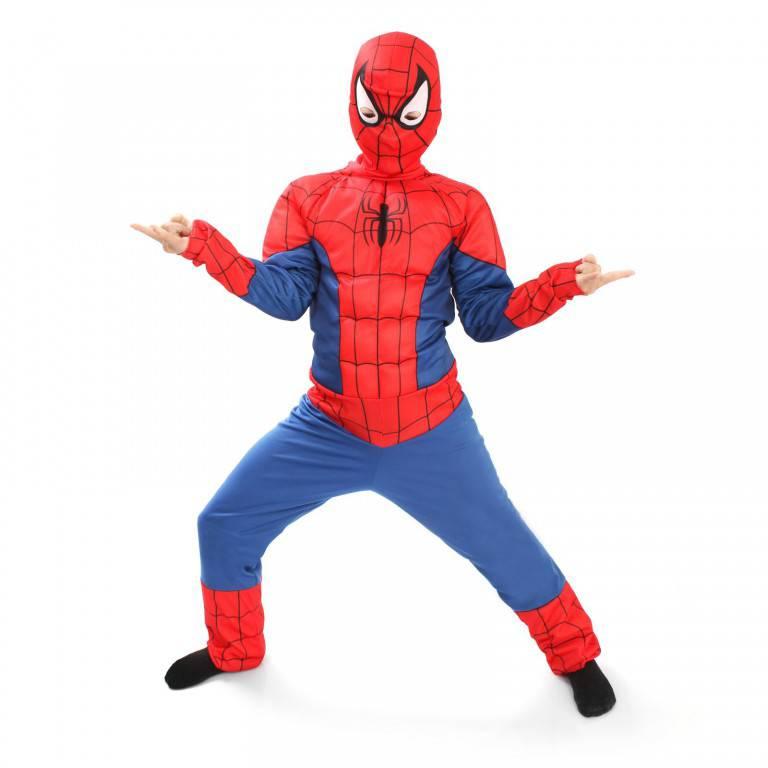 Карнавальный костюм – Человек Паук, размер 28