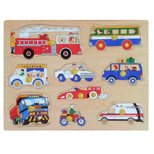 Деревянная рамка - МашинкиРамки и паззлы<br>Деревянная рамка - Машинки<br>