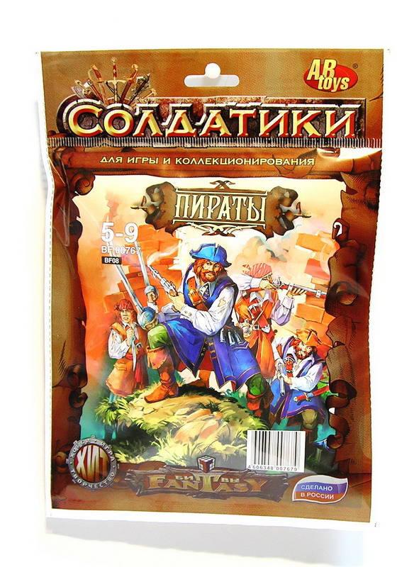 Купить Набор солдатиков Битвы фэнтези - Пираты, Технолог
