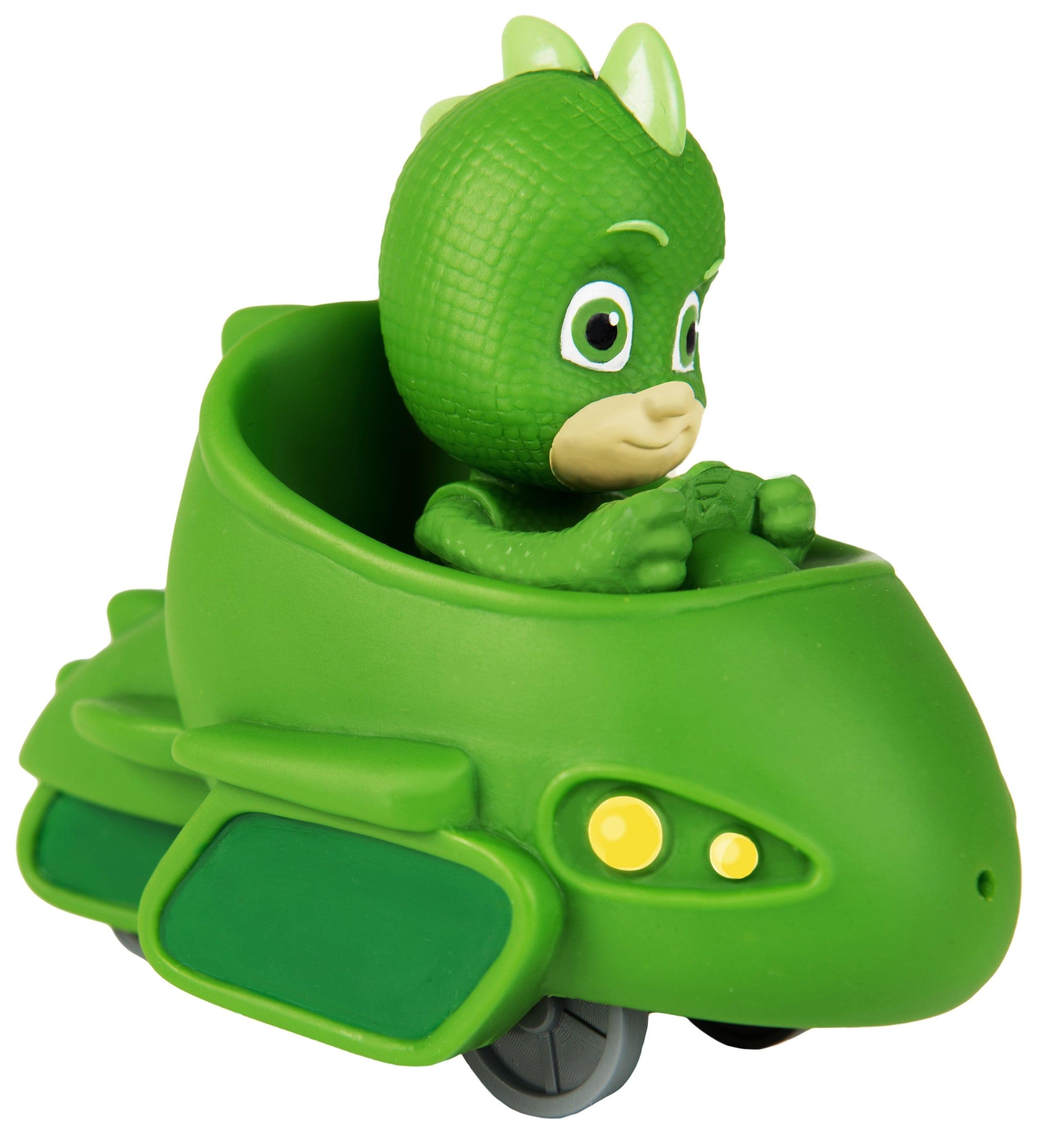 Купить Игрушка для ванны – Гекко в машине. ТМ Герои в масках, Росмэн