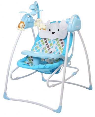 Электрокачели Baby Care Butterfly 2 в 1 зеленые, с адаптером, GreenЭлектронные качели для детей<br>Электрокачели Baby Care Butterfly 2 в 1 зеленые, с адаптером, Green<br>