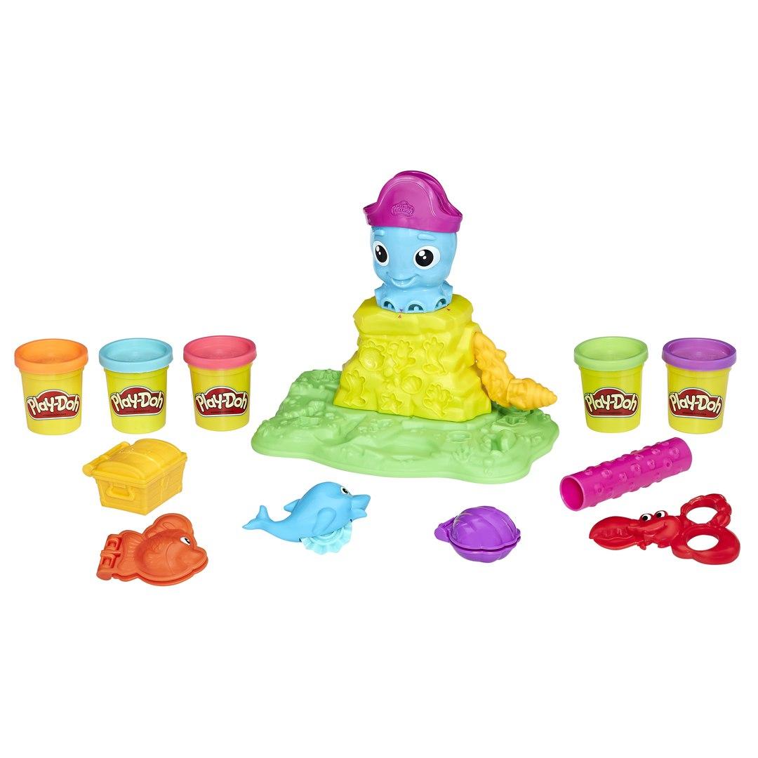 Игровой набор Play-Doh - Веселый осьминогПластилин Play-Doh<br>Игровой набор Play-Doh - Веселый осьминог<br>