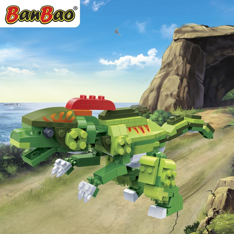 Конструктор Динозавр, 175 деталейКонструкторы BANBAO<br>Конструктор Динозавр, 175 деталей<br>