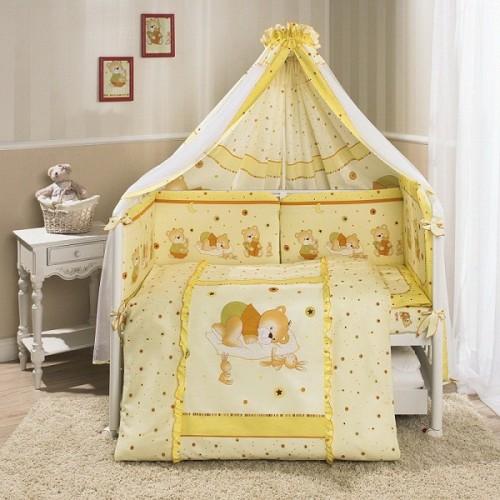 Комплект постельного белья Ника, бежевыйДетское постельное белье<br>Комплект постельного белья Ника, бежевый<br>