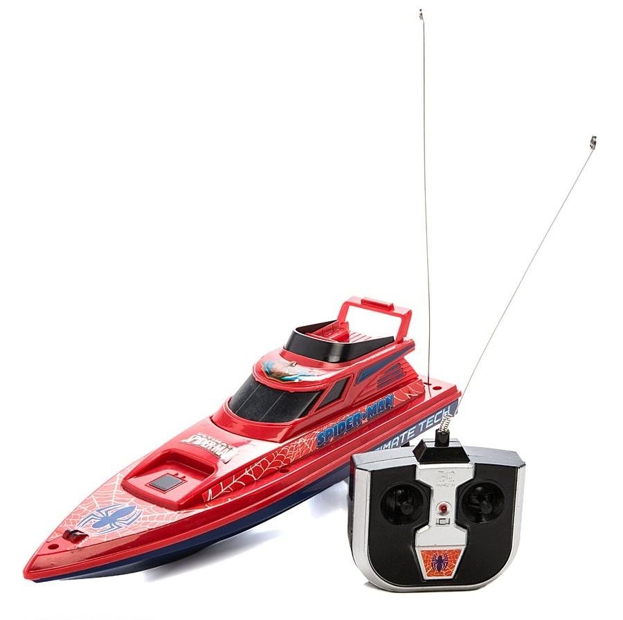 Катер «Спайдермен» на радиоуправленииКатера, лодки и корабли на радиоуправлении<br>Катер «Спайдермен» на радиоуправлении<br>