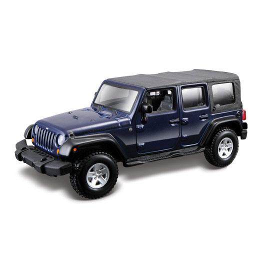 Машина Jeep Wrangler Unlimited Rubicon, металлическая, масштаб 1:32 от Toyway
