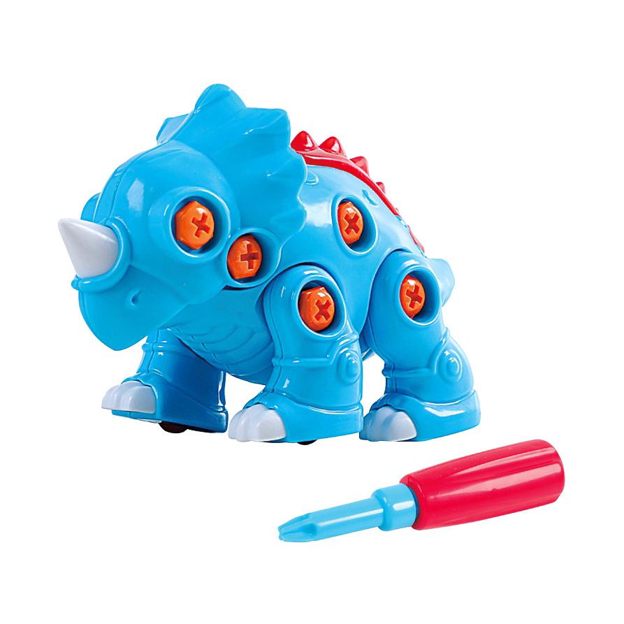 Развивающая игрушка - Построй динозавраКонструкторы Bauer Кроха (для малышей)<br>Развивающая игрушка - Построй динозавра<br>
