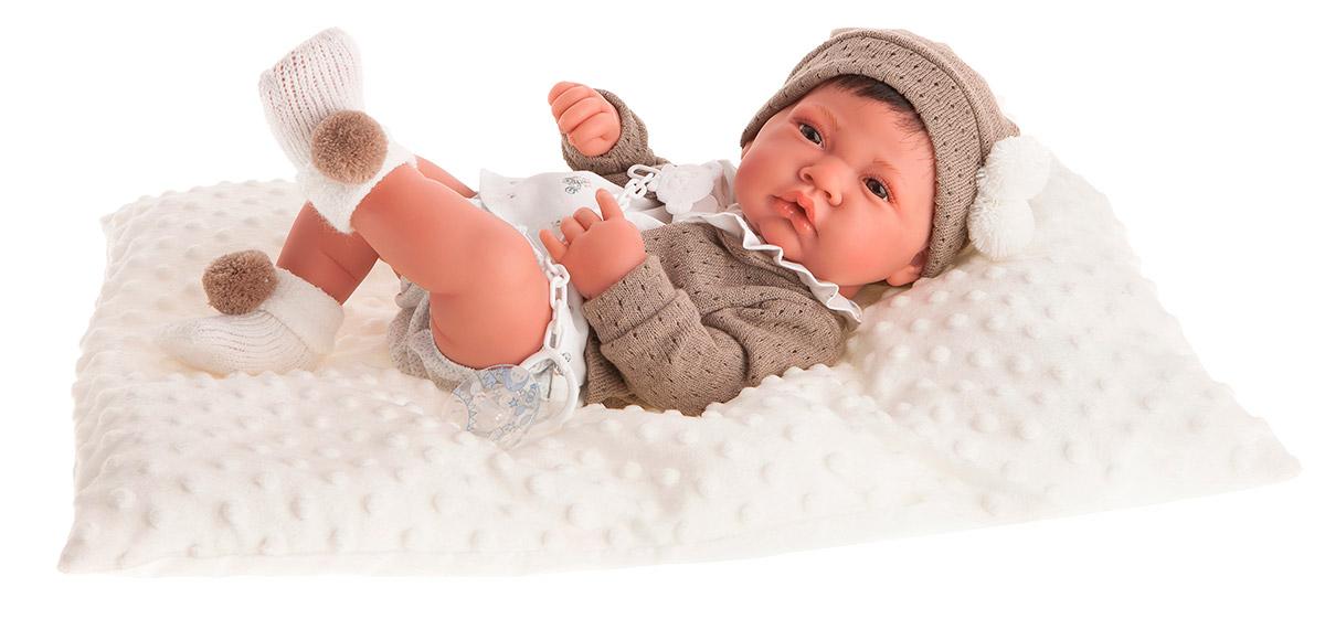 Купить Кукла-младенец – Белен в белом, 42 см, Antonio Juan Munecas