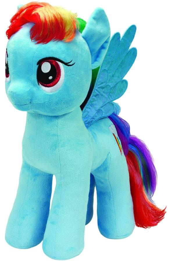Пони Rainbow Dash мягкая игрушка, 42 см.Моя маленькая пони (My Little Pony)<br>Пони Rainbow Dash мягкая игрушка, 42 см.<br>