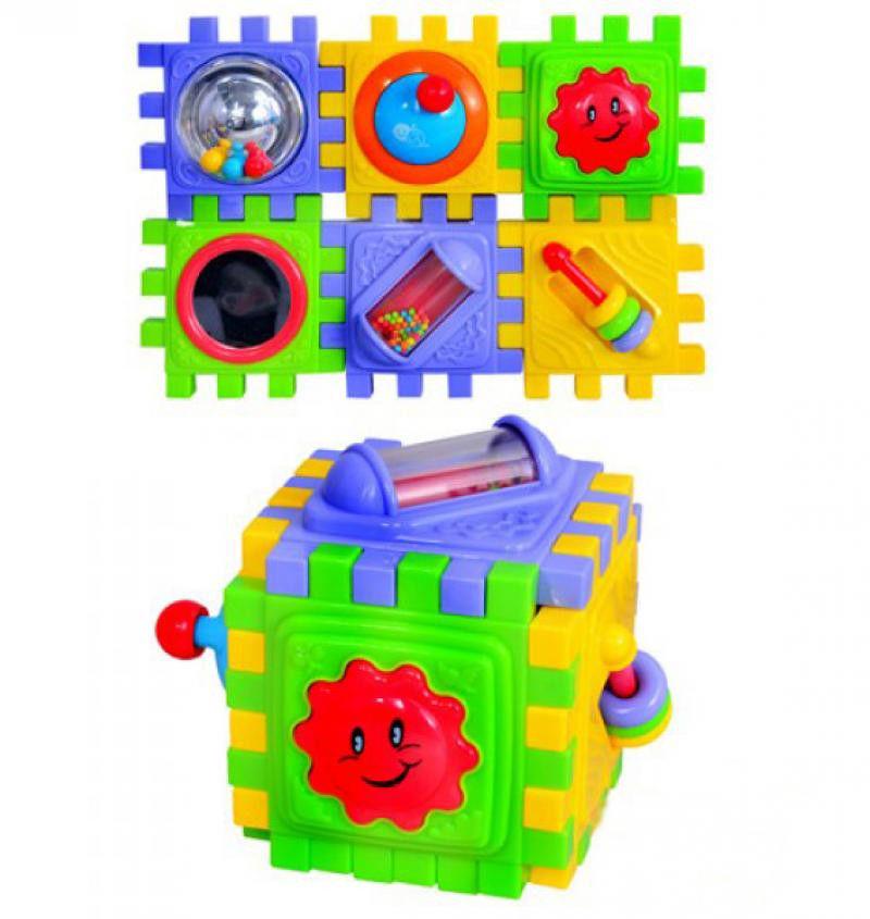 Развивающий центр - Куб разборныйРазвивающие игрушки PlayGo<br>Развивающий центр - Куб разборный<br>