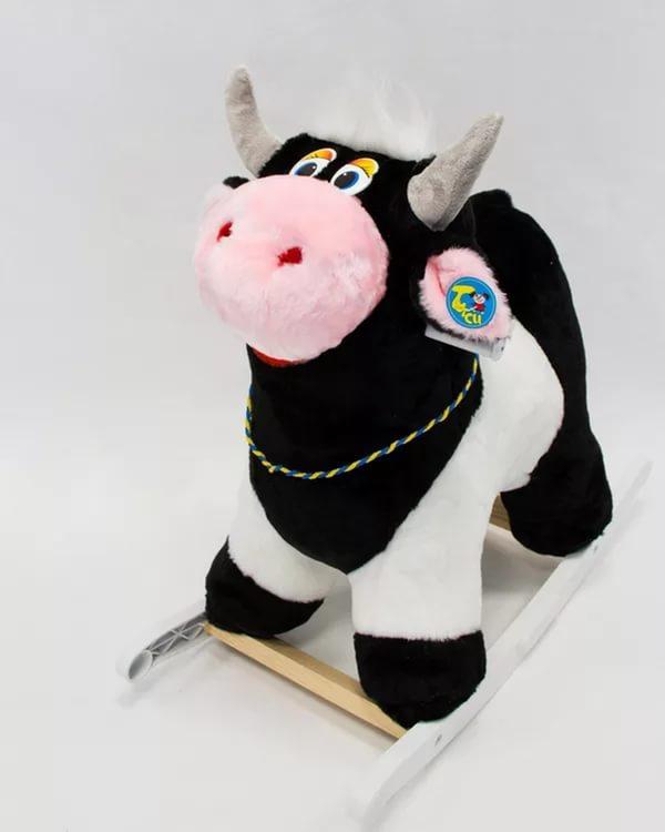 Меховая качалка. Корова - Детские кресла-качалки, артикул: 157387