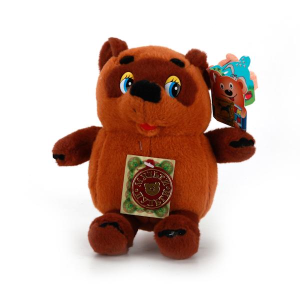 Озвученная мягкая игрушка - Медвежонок Винни-Пух, 15 смГоворящие игрушки<br>Озвученная мягкая игрушка - Медвежонок Винни-Пух, 15 см<br>