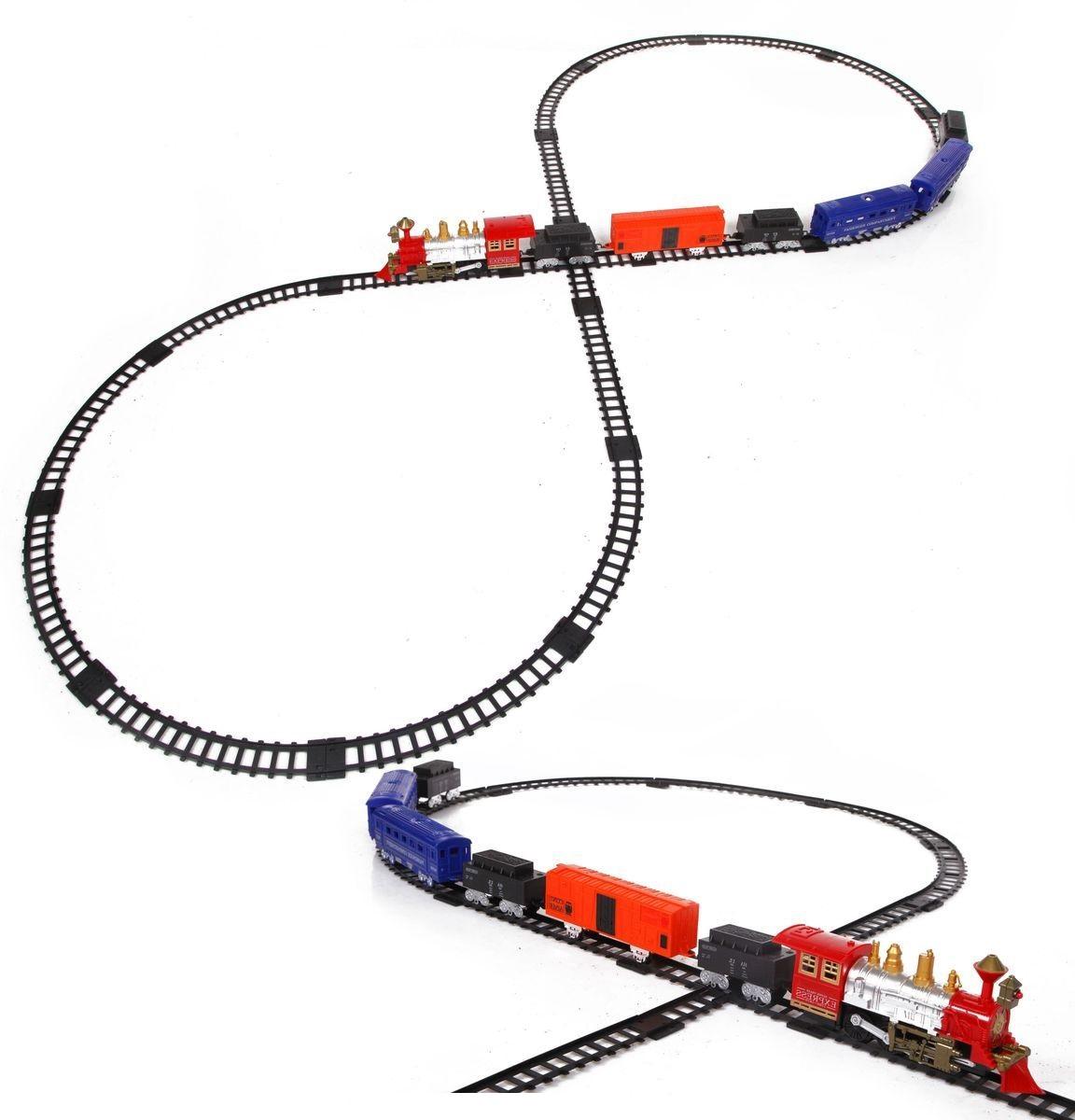 Купить Железная дорога со световыми и звуковыми эффектами – Train in fast, Yako
