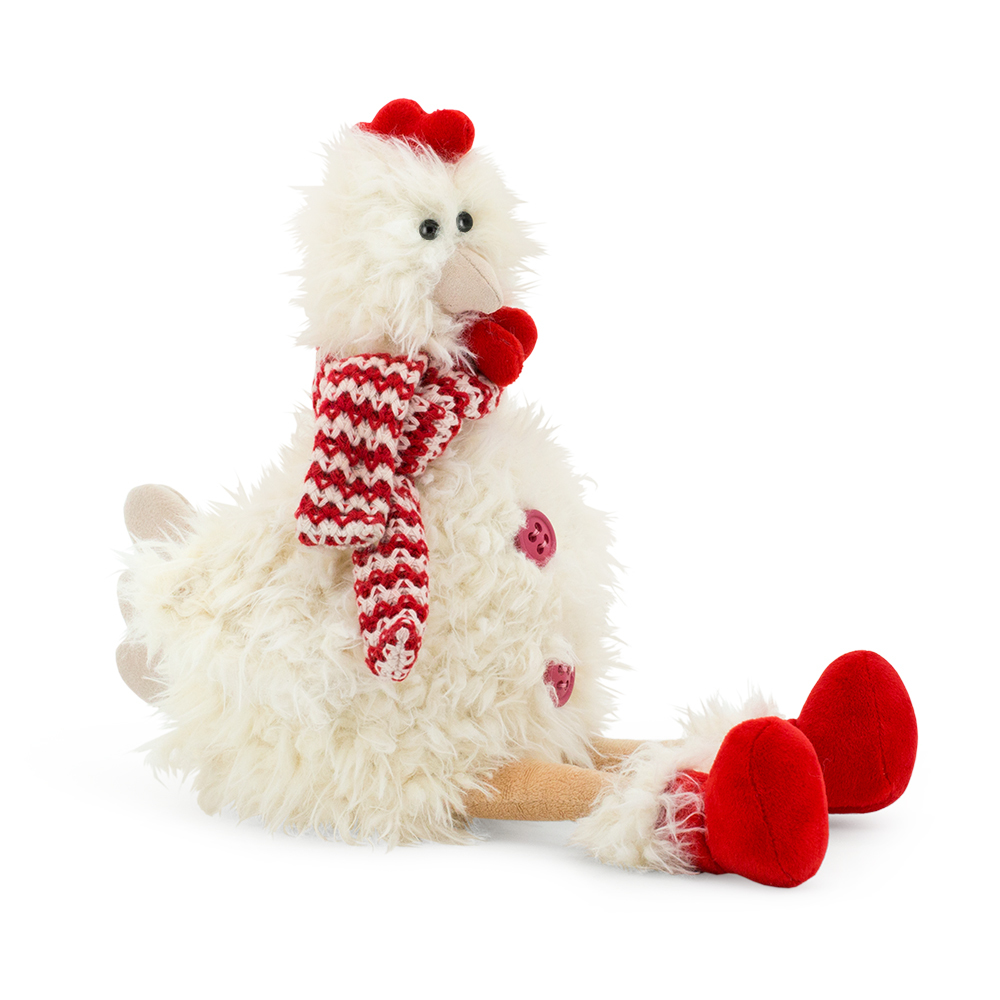 Мягкая игрушка - Курочка Ася, 35 смЖивотные<br>Мягкая игрушка - Курочка Ася, 35 см<br>